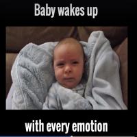 Se baby med de sødeste udtryk