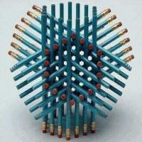 Hvor mange blyanter ser du her?