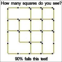 Mange mange firkanter
