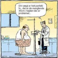 Det er vægten der er problemet